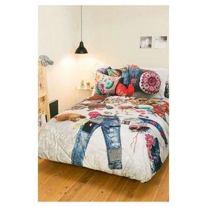 housse de couette desigual achat vente housse de couette desigual pas cher cdiscount. Black Bedroom Furniture Sets. Home Design Ideas
