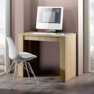 CONSOLE EXTENSIBLE FINLANDEK Table console extensible 8 personnes - D