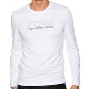 T-SHIRT T-Shirt Calvin Klein jeans Manche longue Homme