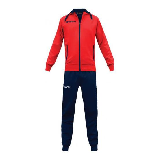 ff52a86bf4d0e Givova - WINNER - Survêtement - Rouge - Homme M Rouge TR017-M-Rosso ...