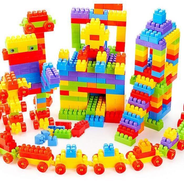 188 pcs jeu de construction cube assemblage 188 pcs briques jouets des enfants achat vente. Black Bedroom Furniture Sets. Home Design Ideas