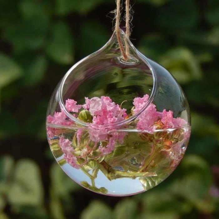 vase suspendu bouteille en verre jardin d cor achat. Black Bedroom Furniture Sets. Home Design Ideas