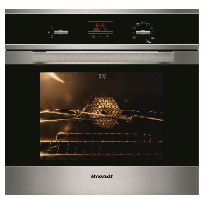 brandt four pyrolyse fp1061x achat vente four cdiscount. Black Bedroom Furniture Sets. Home Design Ideas