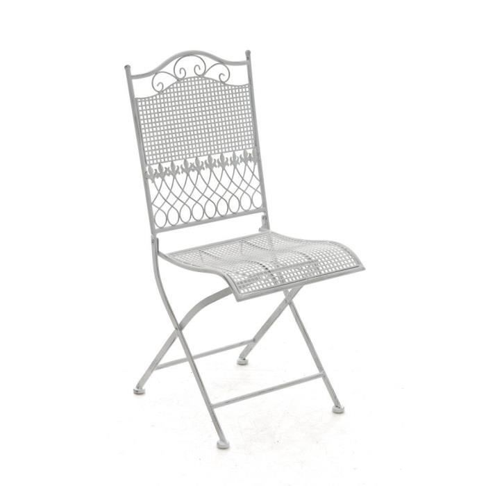 Chaise Jardin Fer Forge