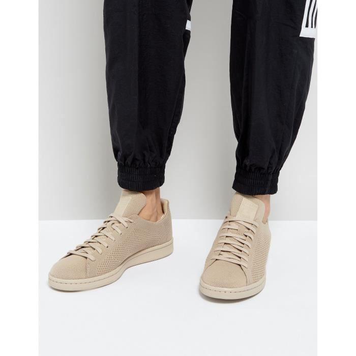 Adidas Originals Stan Smith Primeknit Baskets homme beige