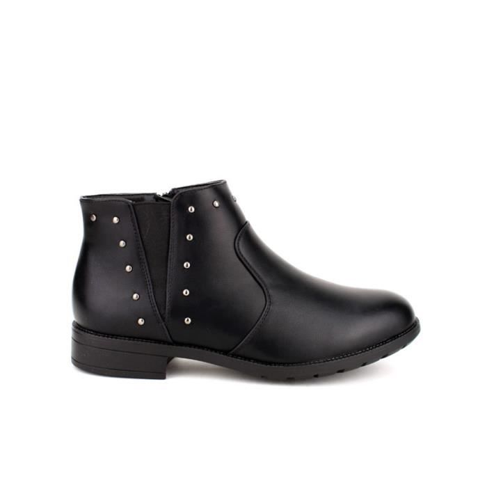 BOTTES HOMME STYLE MOTO CUIR