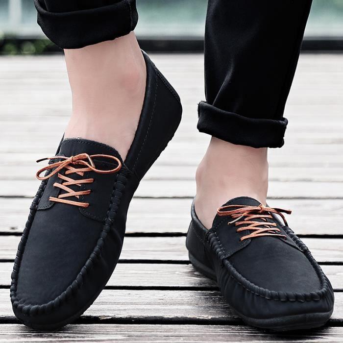 Chaussures Homme Bateau homme Bateau en daim Chaussures de ville Chaussures populaires Chaussures plates Confortables et légères vxcoIX7Owm