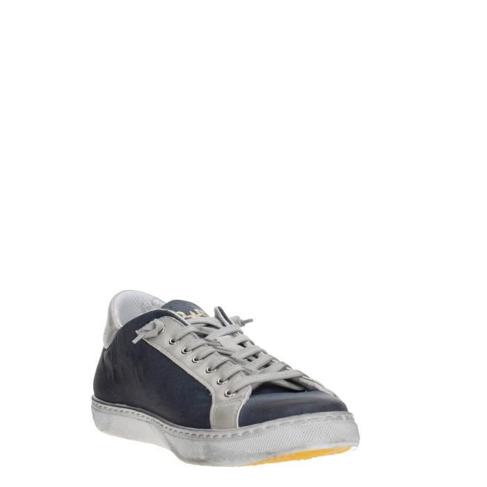 2 Star Sneakers Homme GREY/BLUE, 40