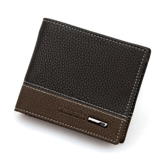 Portefeuille Dedasing® En Argent Poches L'homme port1834 Bifold Card Coin Cuir 1qqnUrw5