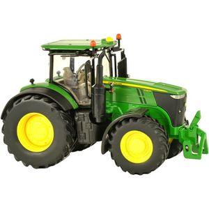 Tracteur JOHN DEERE 7230R avec relevage avant