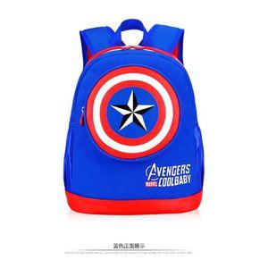 CARTABLE Captain America 2-7 ans l'école maternelle sac des