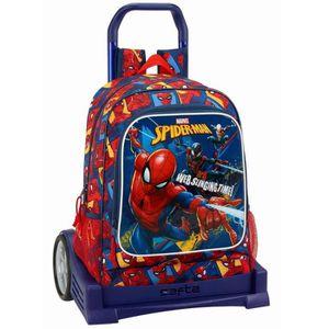 CARTABLE Sac à roulettes Spiderman Action Evolution 43 CM H