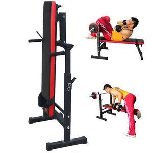 BANC DE MUSCULATION banc de musculation avec support haltères longs ré