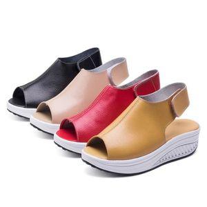 SANDALE - NU-PIEDS 4 couleurs des chaussures de secousse saine des fe ...