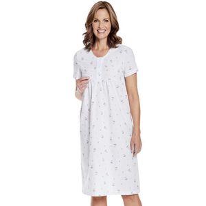 acheter populaire db34b f3b04 Chemise de nuit femme manche courte - Achat / Vente pas cher