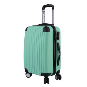 VALISE - BAGAGE 24'' Valise cabine Low Cost ABS 4 Roues vert