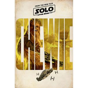 AFFICHE - POSTER Affiche Maxi Solo: A Star Wars Story Chewie Teaser