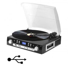 PLATINE VINYLE TECHNAXX TX-22 Numériseur de cassettes, disques av