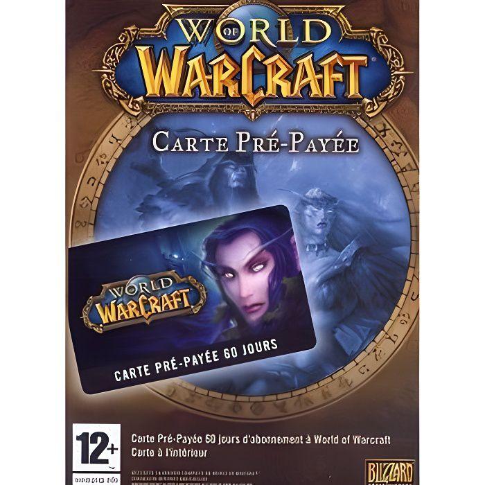 JEU PC World Of Warcraft : Carte Pré-Payée Jeu PC
