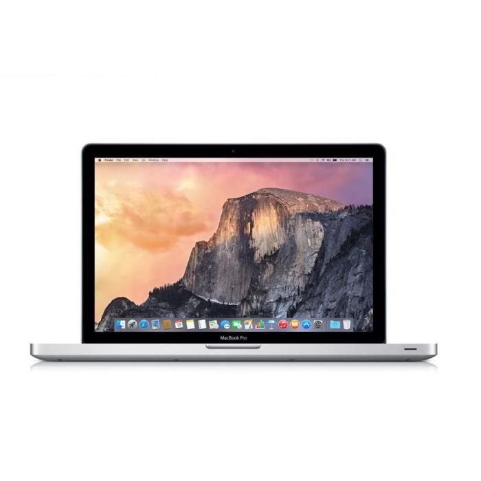 "ORDINATEUR PORTABLE MacBook Pro 13"" 128Go SSD 4Go RAM"