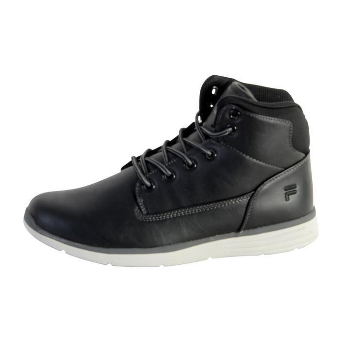 Chaussure Fila Lance Mid Black/Black zxJ5mL