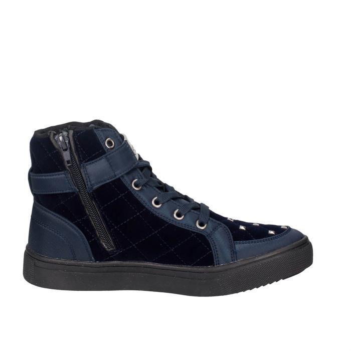 Braccialini Haute Sneakers Femme Bleu, 41