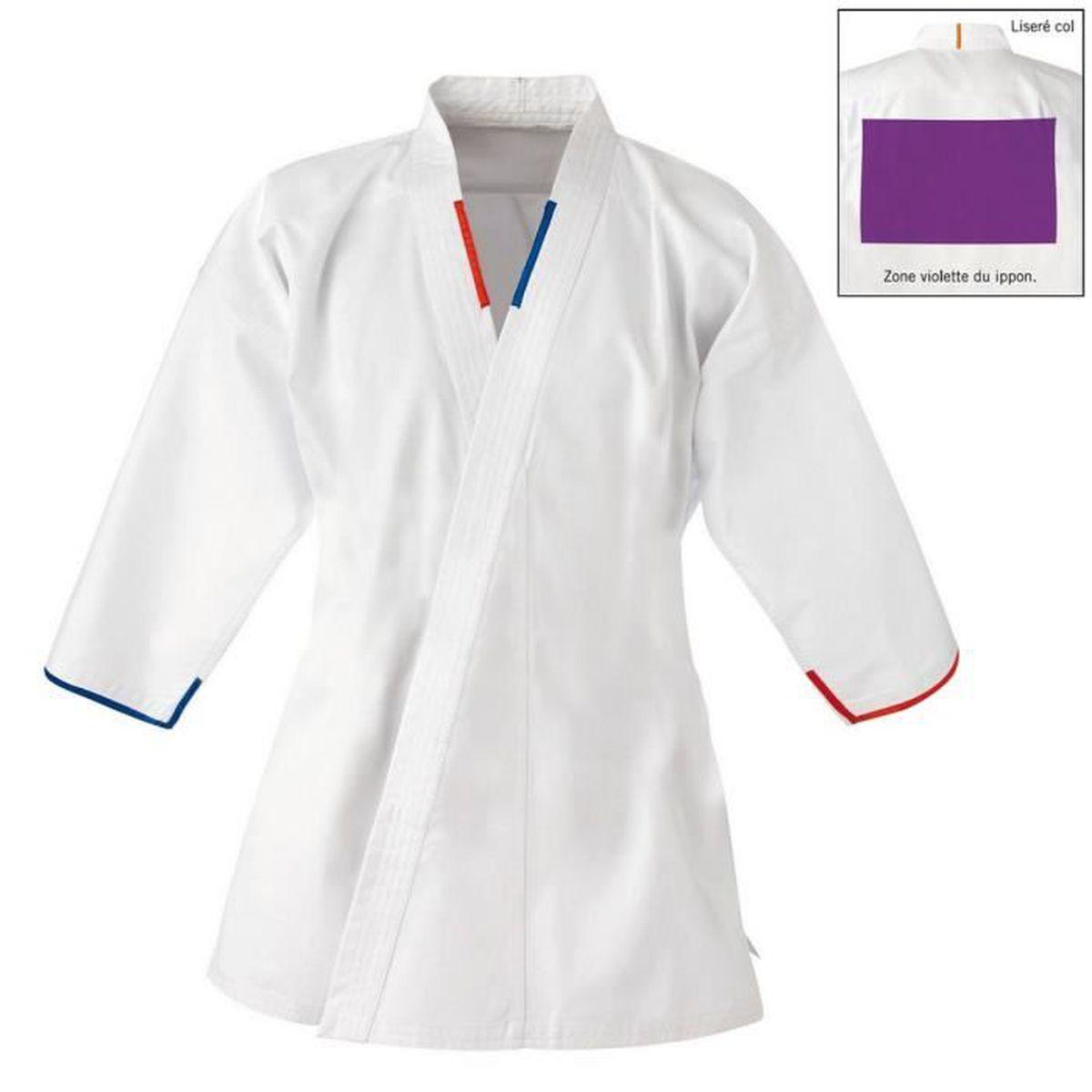 Veste de judo 100% coton Taille : 130 cm