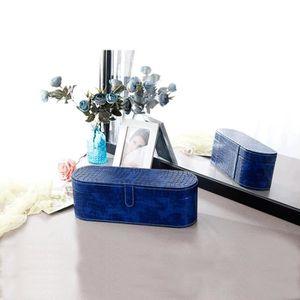 PORTE SECHE-CHEVEUX Bleu-Chic Sac de rangement de boîte de sèche-cheve