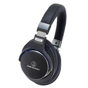 CASQUE - ÉCOUTEURS AUDIO TECHNICA ATH-MSR7BK Casque audio micro haute