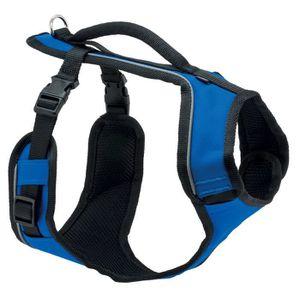 HARNAIS ANIMAL EASY WALK Harnais XS - Bleu - Pour chien