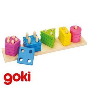 BOÎTE À FORME - GIGOGNE Assortir les formes et les couleurs Jeu jouet e...