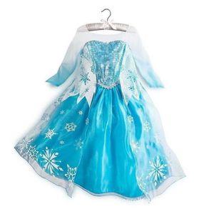DÉGUISEMENT - PANOPLIE Robe Elsa La Reine Des Neiges Frozen Déguisement C