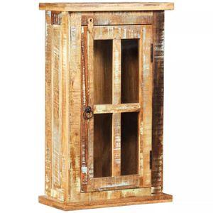 armoire murale bois achat vente pas cher. Black Bedroom Furniture Sets. Home Design Ideas