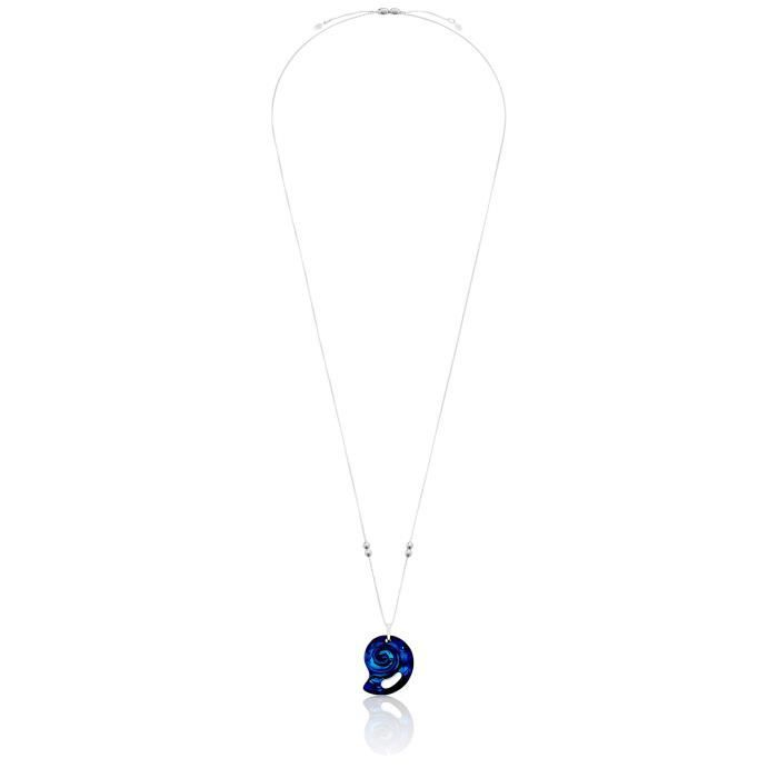 Alex And Ani Crystal Infusion Pull Chain, Nautilus, Kelp Green Pendant Necklace P4PPV