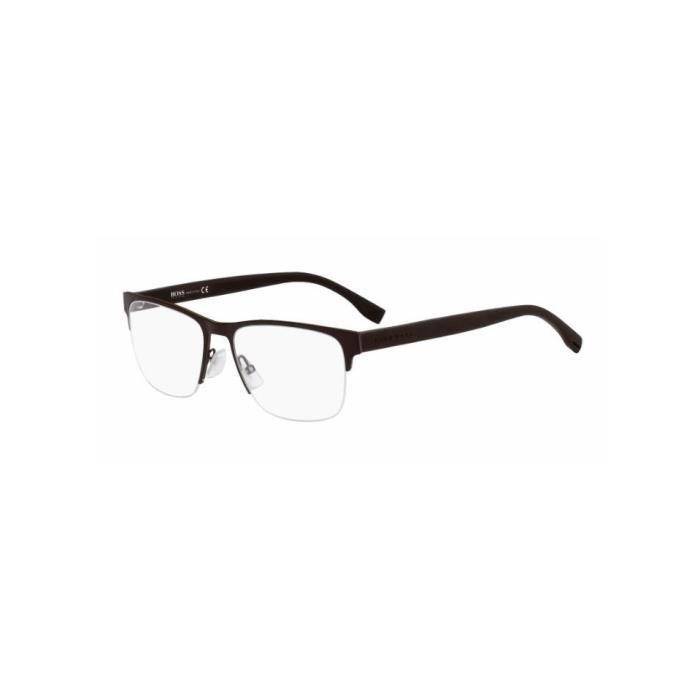 95541dd46c539d Lunette de vue BOSS 0739 KBS Marron - Achat   Vente lunettes de vue ...