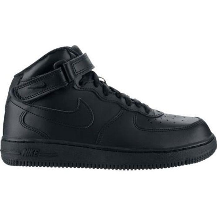 Basket Nike Air Force 1 Noir Mid…
