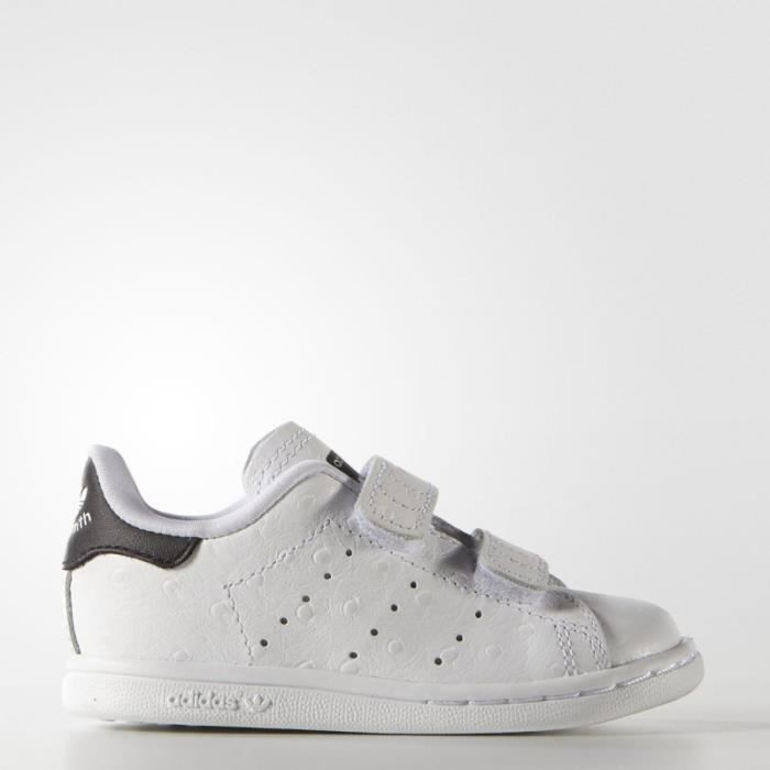Basket ADIDAS STAN SMITH CF I - Age - ENFANT, Couleur - BLANC, Genre - Mixte