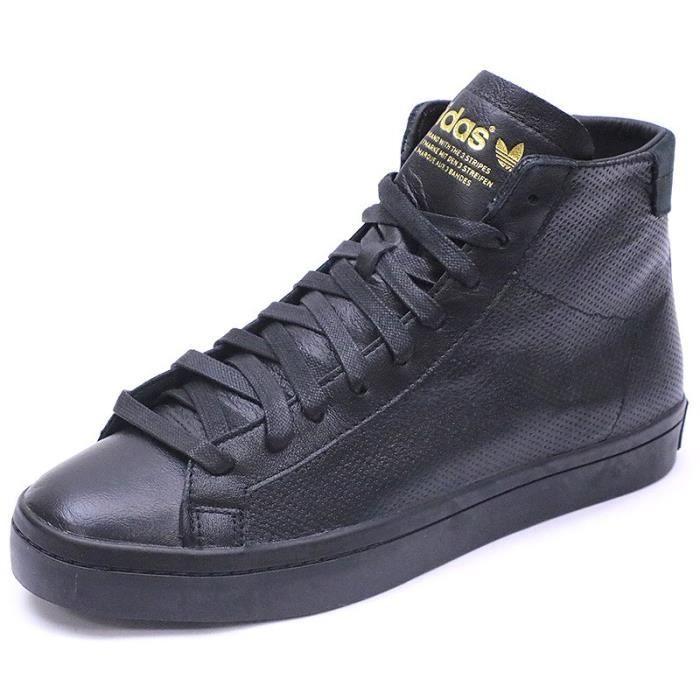 Adidas Vantage Noir Mid Court Achat Homme Chaussures BpPq166
