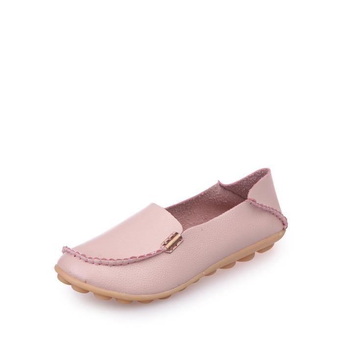 chaussures multisport Glissement des femmes Ons Solide Couleur simple sélectionl souple Sole Mocassins 9667124