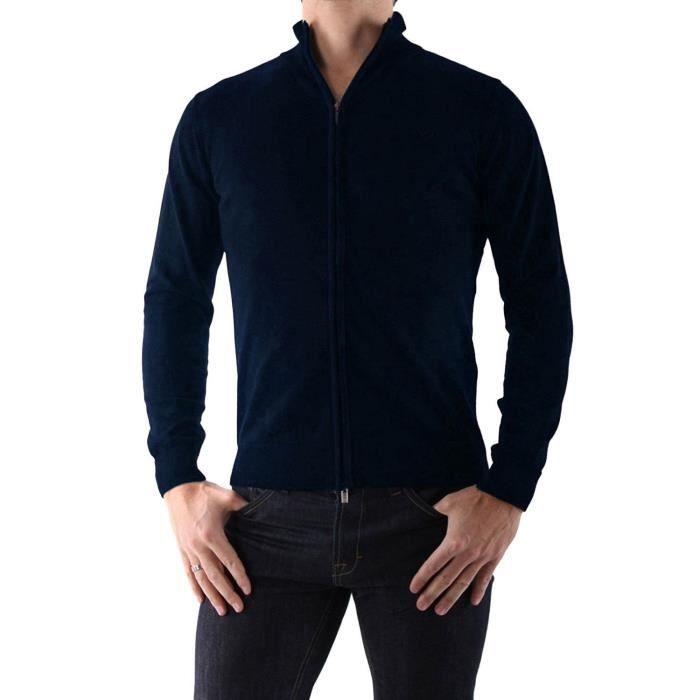 ARMANI JEANS - Gilet en coton pour homme 06W90 (Bleu (Marine) - XXL ... 4ab3f40cd18c