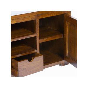 petit meuble tv bois achat vente petit meuble tv bois pas cher cdiscount. Black Bedroom Furniture Sets. Home Design Ideas