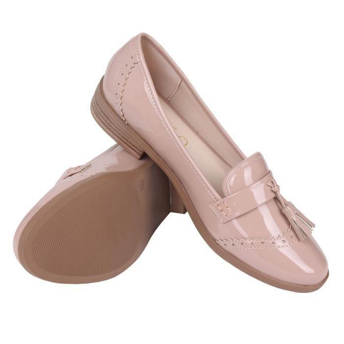 Chaussures Femme Hiver Peluche fond épaisé Chaussure MMJ-XZ065Rose38 yPeOXW2I
