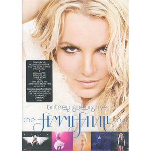 DVD MUSICAL BRITNEY SPEARS - The Femme Fatale Tour (DVD)