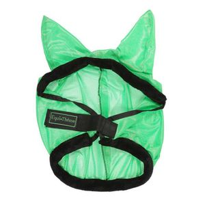 EQUI-TH?ME Masque anti-mouches ?Éclat?- Vert fluo - Taille S