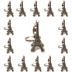 PIÈCE MONDE MINI Lot de 50 porte-clé Tour Eiffel Pairs souvenir cou
