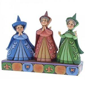 FIGURINE - PERSONNAGE Figurine Les trois fées - Disney Traditions Jim Sh