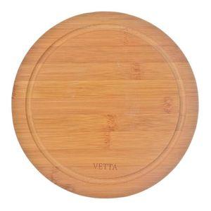 PLANCHE A DÉCOUPER Planche à découper ronde bambou 23 x 0.9 cm