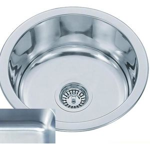 Evier rond inox achat vente evier rond inox pas cher for Evier encastrable 2 bacs