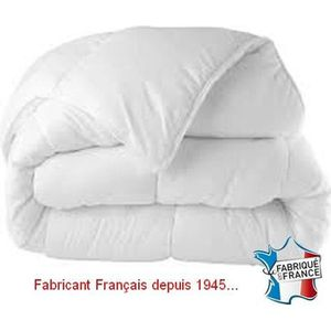 COUETTE Couette Anti-acariens Blanche 240x260 - MORTREUX