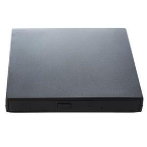 LECTEUR MULTIMÉDIA Lecteur de CD-ROM externe USB 2, O 12,7 mm pour PC